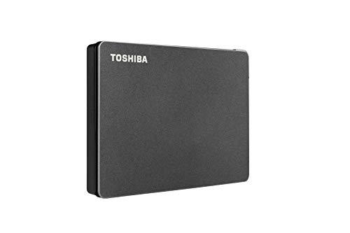 HD Externo Toshiba 2TB Canvio Gaming PRETO - HDTX120XK3AA
