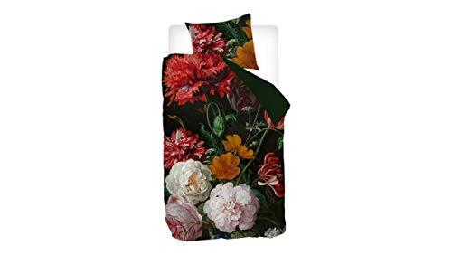 Snoozing Roses - Juego de funda nórdica (140 x 200/220 cm y 1 funda de almohada), multicolor