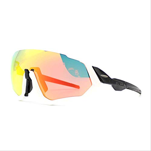 SMEI - Gafas de sol deportivas para ciclismo y mujer, 3 lentes polarizadas 1