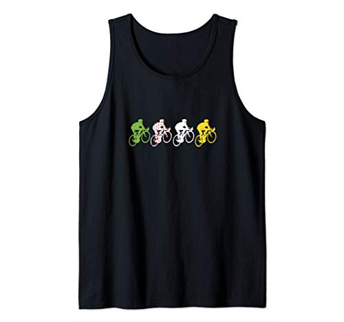 French Bicycle France T-shirt Cycling Fan Gift 2020 Tank Top