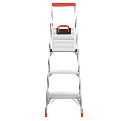 Little Giant Ladders, Flip-N-Lite, 5-Foot, Stepladder, Aluminum, Type 1A, 300 lbs rated (15273-001)