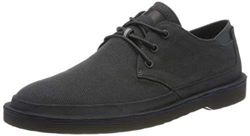 Camper Morrys, Zapatos de Cordones Derby Hombre, Negro (Charcoal 10), 44 EU