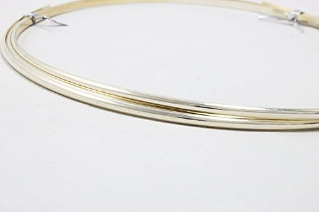 14 Gauge, 935 Argentium Silver Wire, Half Round, Dead Soft - 5FT from Craft Wire