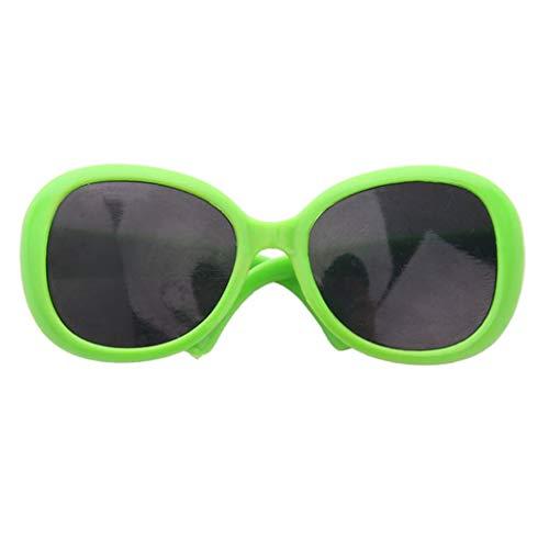 perfeclan Juguetes Gafas para Muñecas Bebé de 43-45 Cm Muñeca de Niña de 18 Pulgadas Gafas de Sol de Plástico Marcos Verdes