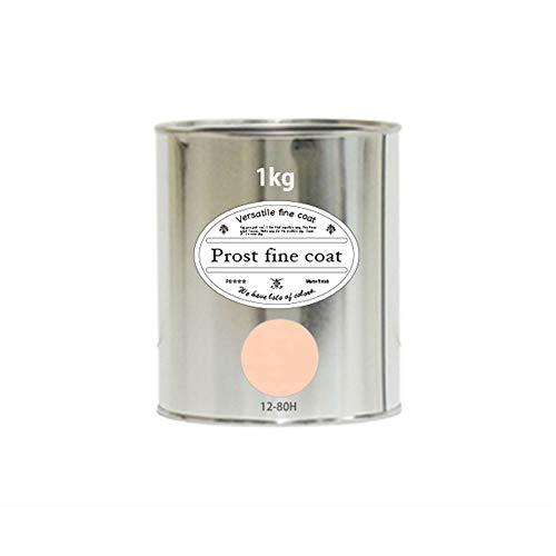 ペンキ 水性塗料 12-80H ブランケットピンク 1kg/ 艶消し 壁 天井 壁紙 壁クロス ファインコート つや消し