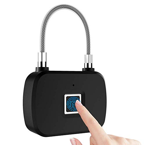 AYDQC Keyless Fingerabdruck-Verschluss, tragbare Smart for Reise-Koffer fengong