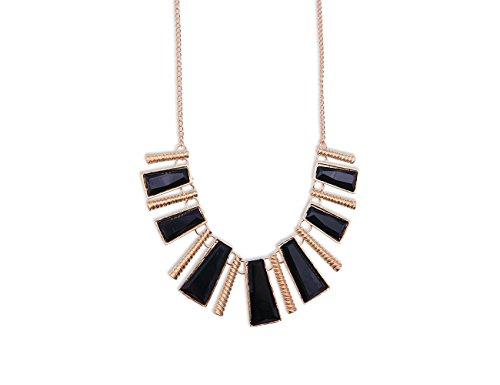 Enez XXL Damen Kette Halskette Blogger Necklace Choker Collier Retro 50cm R522a