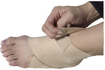 Alpha Medical Adjustable Figure 8 Support Elastic Ankle Brace (Lrg)