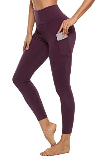 Anwell Sweathose Damen Basic Sweat Pants Jogginghose Weinrot XL