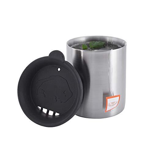 Tatonka Thermo Mug 350 Thermobecher, Transparent, 7.5 x 11.5 cm