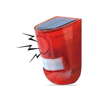 DRL Commande Solaire d'animaux, répulsif antiparasitaire imperméable de Chat de scarificateur, Commande multifonctionnelle extérieure Clignotante de lumière de LED for la Ferme de Jardin