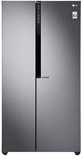 LG 679 L Frost Free Inverter Linear Side-by-Side Refrigerator (GC-B247KQDV, Graphite steel, Multi Air Flow)