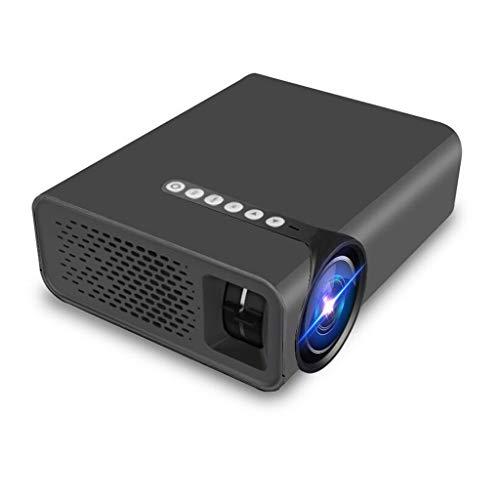 HongLianRiven beweegbare projector, resolutie 800 x 480 RGB - zwart en wit - aanbiedingen 2 functieopties -18,9 x 15,7 x 7,5 cm 11-25