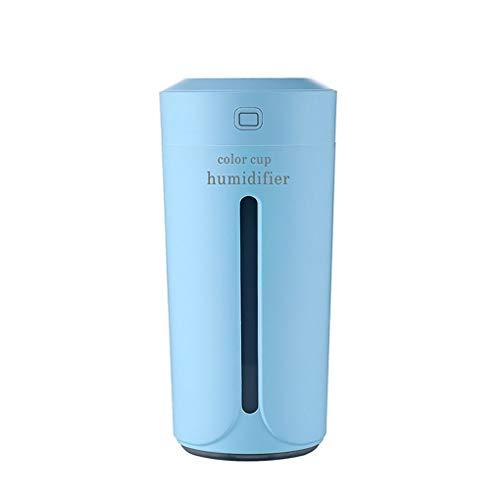 Qinghengyong Colorida Noche de la Taza Luz humidificador Inicio casa humidificador de Sonic USB humidificador 230ml Antideslizante Inferior