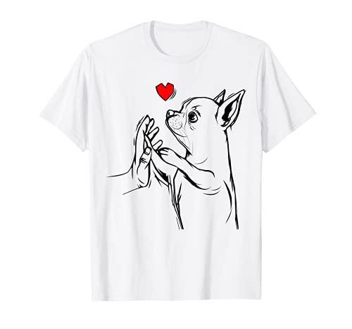 Chihuahua Love Cute Dog Mom Funny Girls Camiseta