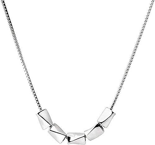 Yiffshunl Collar Fashion Lady Transfer Collar Perlas Encanto Simple
