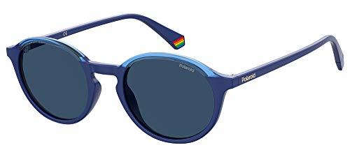 Polaroid PLD 6125/s Sunglasses, PJP/C3 Blue, 50 Unisex-Adult