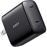 Aukey Swift 30W PD 3.0 USB C Wall Charger with Foldable Plug