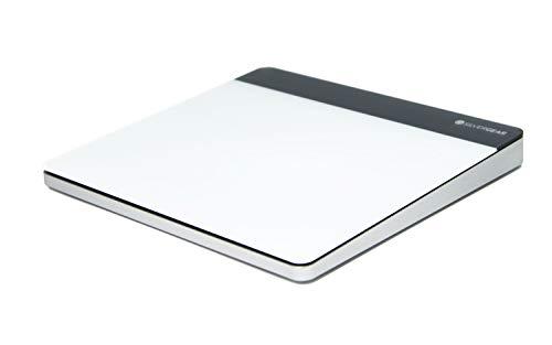 Silvergear Wireless Touchpad, Kabelloses Multi Touch Maus, Trackpad für Mac OS, Windows, Desktop, PC, Notebook, Computer und Laptop, USB Empfänger Weiß