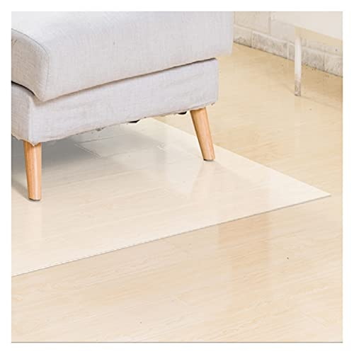 alfombra de Pasillo Clear Sala de Estar Matera, Protector de Plástico Transparente Rug Corredor, para Oficina/Dormitorio/Cocina/Balcón (Size : 140X550cm(4.5ftX18ft))