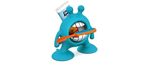 Prince Lionheart eyeSMILE Toothbrush & Toothpaste Holder, Berry Blue