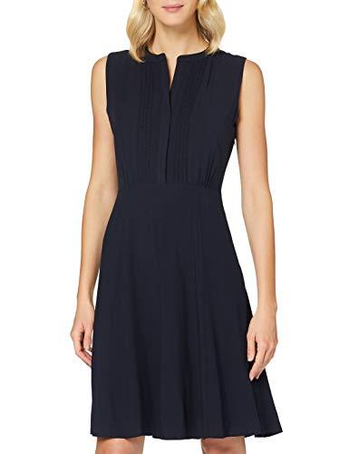 Tommy Hilfiger Damen Danee Dress Ss Kleid, Blau (Desert Sky Dw5), 36 (Herstellergröße: 38)