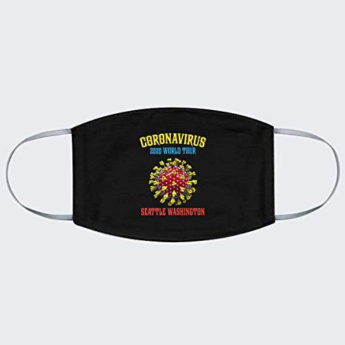 Cooronavirus 2020 World Tour Seattle Washington Fabric For Men – Hot Vintage Retro Classic Fabric For Women Córónávírús 2020 World Tour Best Fabric Cu Fabric 5065