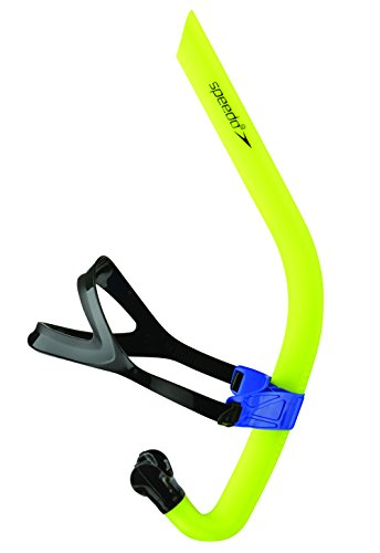 Speedo Unisex-Adult Swim Training Snorkel Bullet Head , Shocking Lime