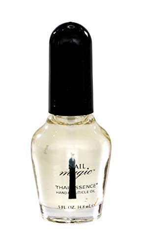 Nail Magic Nail Cuticle Oil, Thai Essence, Organic, Assists with Peeling Fingernails, Reduces cracking cuticles, 0.5 fluid oz