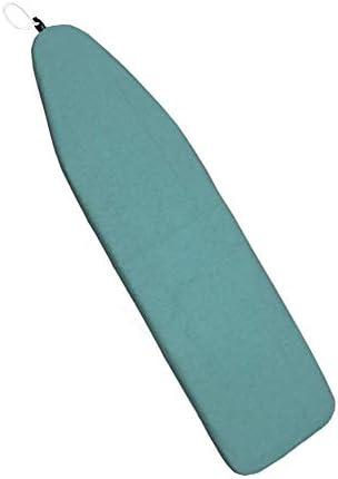 Duwee 137 cm x 38 cm Resistencia al Calor Cubierta met/álica de la Tabla de Planchar Material de Fieltro Duradero Tama/ño est/ándar Opciones multicoloras