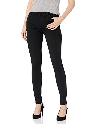 J Brand Jeans Women's 23110 Maria High Rise Skinny Jean, Seriously Black, 23