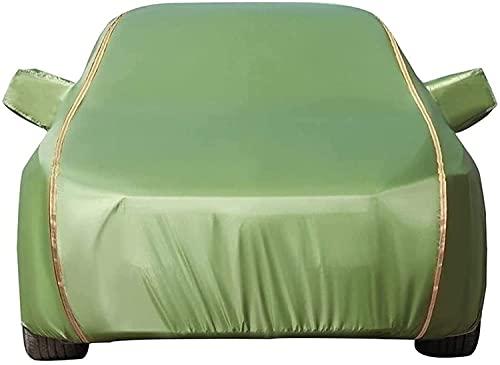 Fundas para Coche Compatible con KIA Opirus, Exterior Automóviles Cubierta Tarpa de Coche Todo Clima Impermeable y Anti-UV de Oxford con Tiras Reflectantes