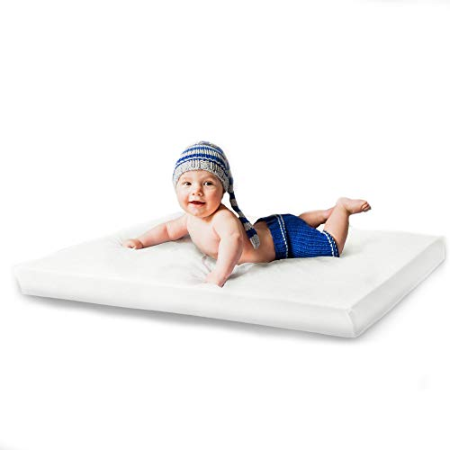 RS-Italy Mattress Next To Me Made In EU Certified 83 x 50 x 7 cm Baby Crib Mattress Soft Breathable Compatible Chicco Next2Me Cam Cradles Kinderkraft Short Cosleeping (83 x 50 x 7)