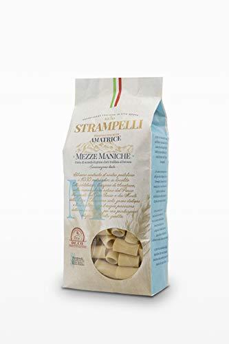 Pastificio Strampelli Pasta- Mezze Maniche - 500 Gr