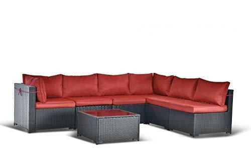 Gotland Sofa Replace Covers (Dark Red)