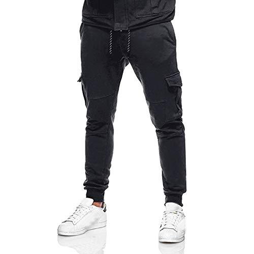 Herren Hose Jogger Cargo Jeans Hosen Stretch Sporthose Herren Hose mit Taschen Slim Fit Freizeithose