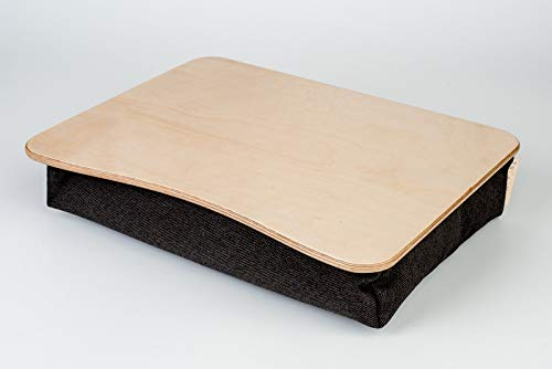 "Wood Laptop Stand/Breakfast Tray/Wooden Laptop Bed Tray/Serving Tray/iPad Table/Pillow Tray""Birch"""