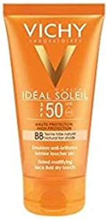 Ideal Soleil BB Tinted Mattifying Face Fluid Dry Touch SPF50 50ml