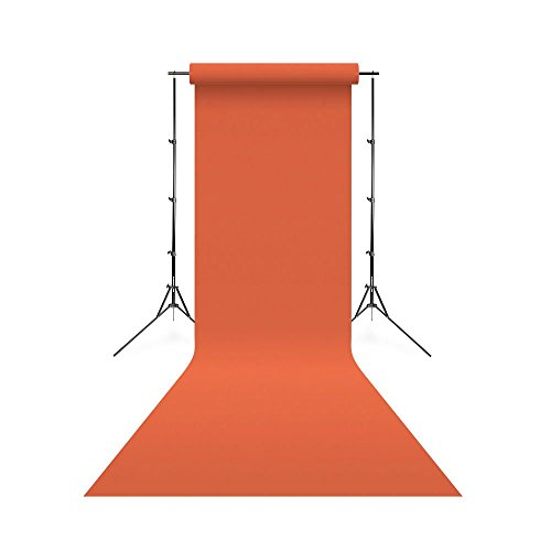 Linkstar 1,35 x 11 m Achtergrondrol - 24 Manderin