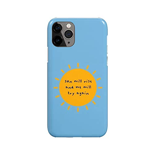 Desconocido iPhone 11 Case, Sun Will Rise DP351 Case For iPhone 11 Protective Phone Cover, Abstract Funny Gorgeous [Double-Layer, Hard PC + Silicone, Drop Tested]