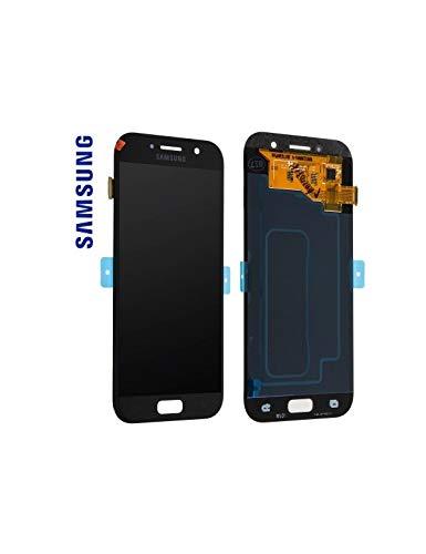 LCD Display Samsung A520F Galaxy A5 2017 Original full set black - LCD Display + Display Glas + Touchscreen + Elektronik