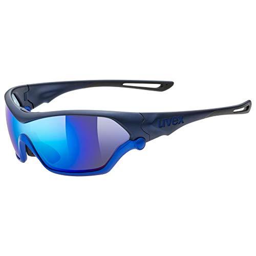 uvex Unisex– Erwachsene, sportstyle 705 Sportbrille, blue metallic, one size
