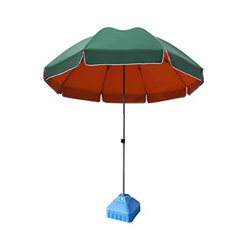 CPPI-1 Market Patio Umbrella Aislante térmico de Doble Capa, Enchufe Fijo, para jardín y césped Junto a la Piscina del Patio Trasero
