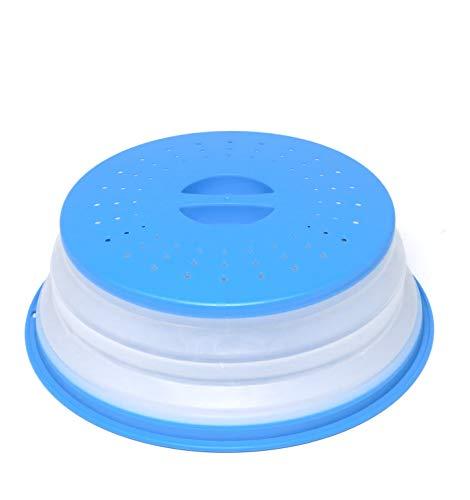 Coperchio per Microonde Coperchio Antischizzi per Microonde, senza BAP e atossico (blu)