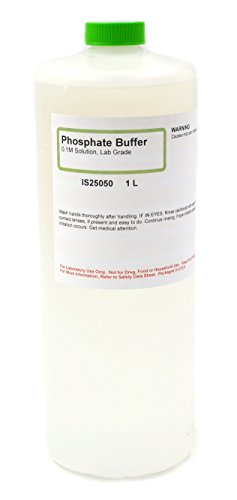 Lab-Grade Phosphate Buffer, 0.1M, 1L - The Curated Chemical Collection