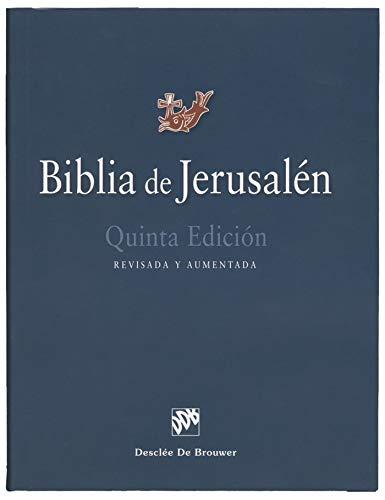 Biblia de Jerusalén: 5ª edición Manual totalmente revisada - Modelo 1