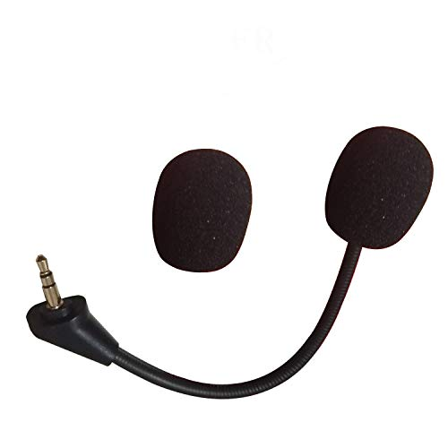 Micrófono de repuesto para auriculares HyperX Cloud Alpha para gaming con micrófono desmontable de 3,5 mm.