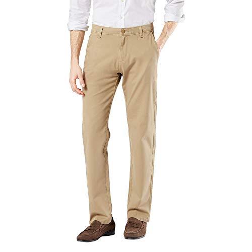 Dockers Men's Big and Tall Ultimate Chino Pants, New British Khaki, 48W x 30L