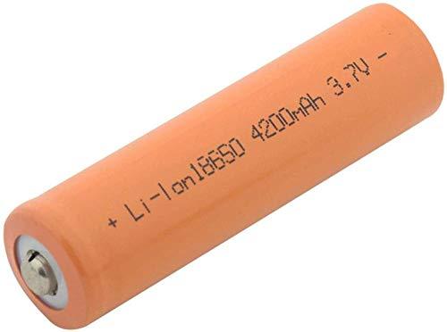 Célula de batería de Iones de Litio de 3.7v 3100mah 18650 ICR para indicador de Banco de energía de Radio 1 Pieza
