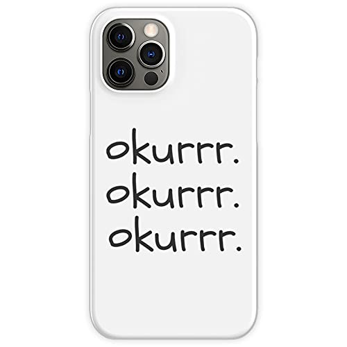 Fun Laptop Okurrr B Cardi Okay Slang Okur Ok Phone Case for All iPhone, iPhone 11, iPhone XR, iPhone 7 Plus/8 Plus, Huawei, Samsung Galaxy